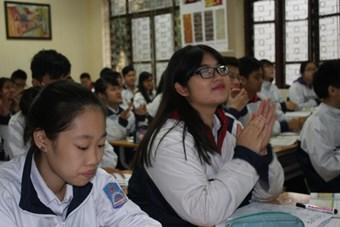 Tiết dạy của cô giáo Nguyễn Thị Hồng Hạnh