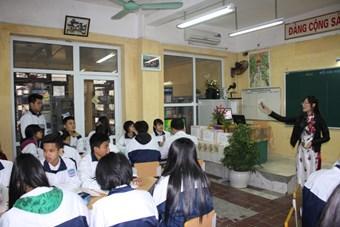 Cuộc thi GVDG cấp cụm môn Công nghệ