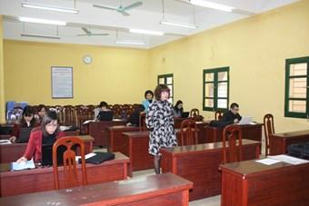 Phần dự thi kỹ năng CNTT dành cho giáo viên không chuyên