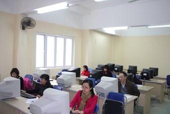 Phần thi kỹ năng CNTT dành cho giáo viên Tiếng Anh + Nhân viên