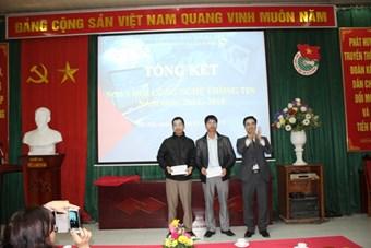 Thầy Nguyễn Trọng Trung - Giải ba phần thi kỹ năng CNTT dành cho giáo viên chuyên Tin