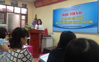 Tham luận của cô giáo Vũ Thị Thanh Sâm