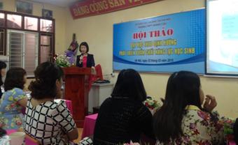 Tham luận của cô giáo Hoàng Thị Thu Trang
