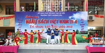 Hưởng ứng ngày sách Việt nam 21/4